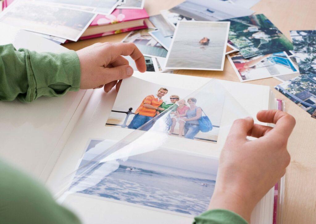 Få styr på dine printede billeder