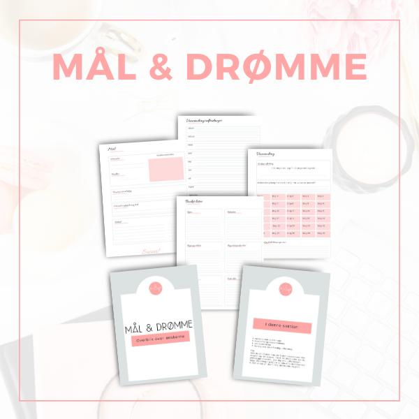 Mål & Drømme pdf-fil til download